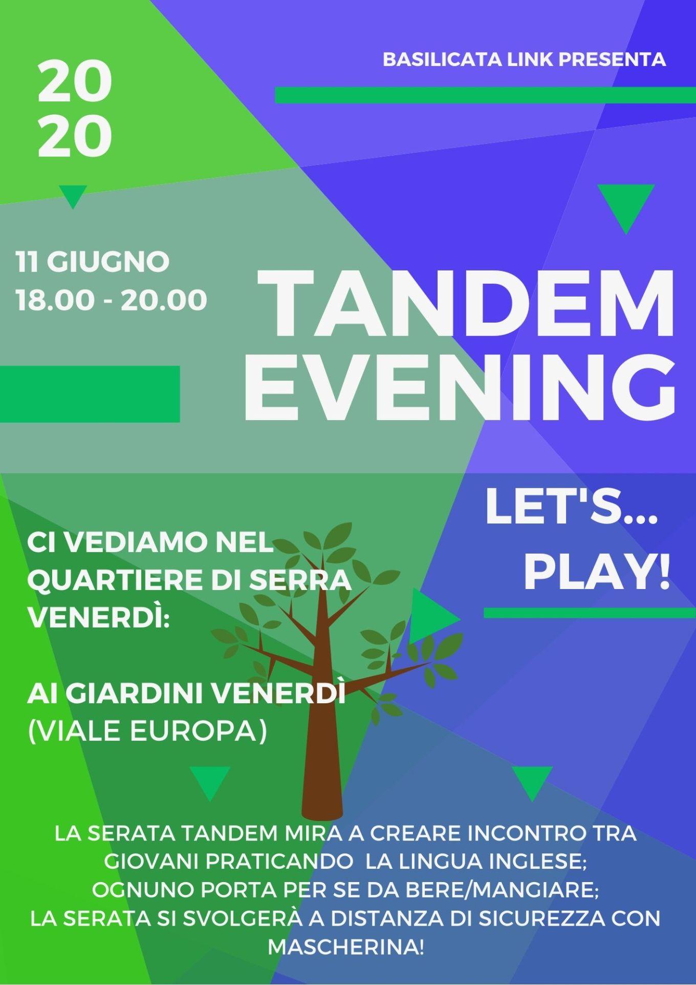 Tandem Evening-11giugno