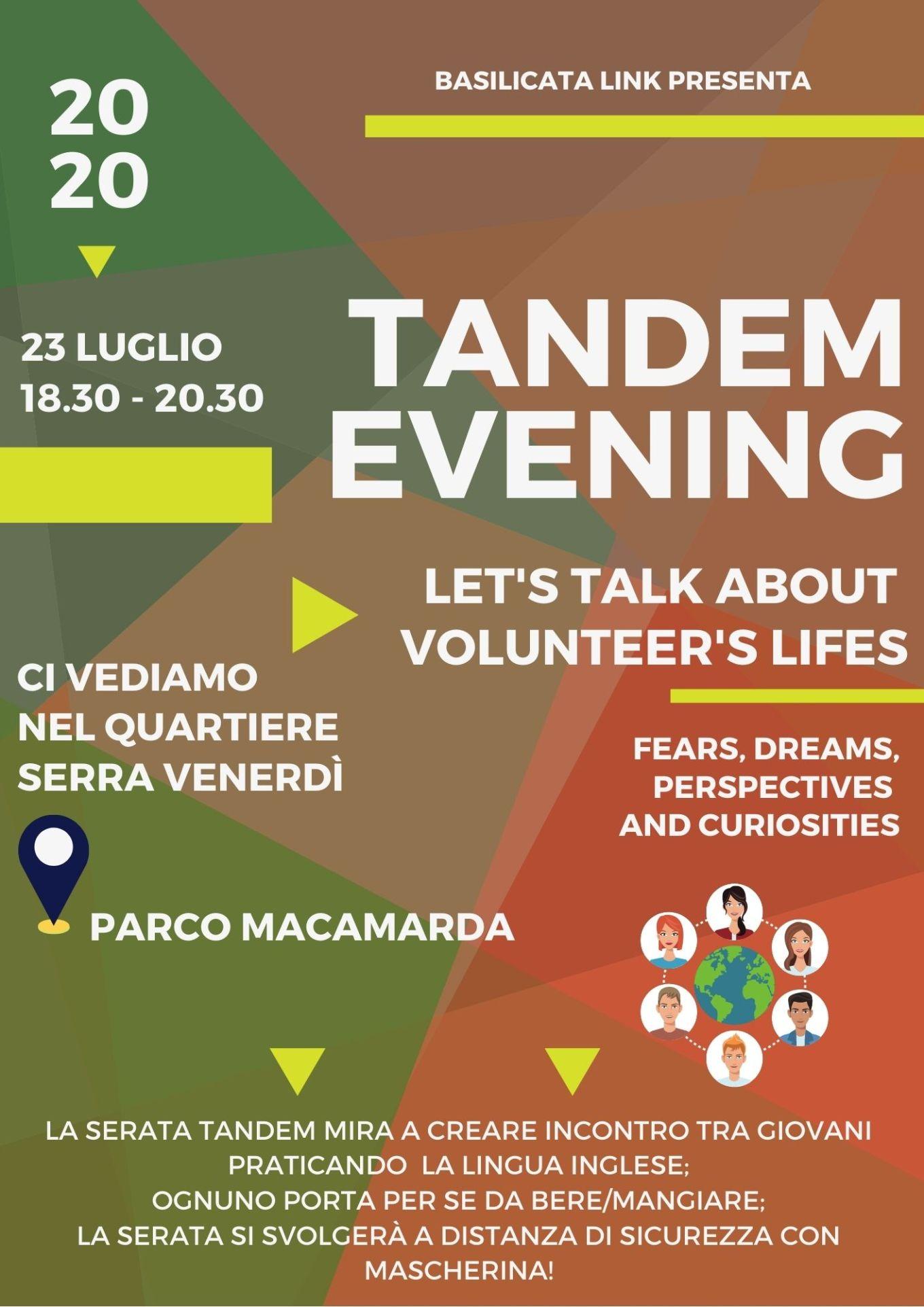Tandem Evening-23 luglio