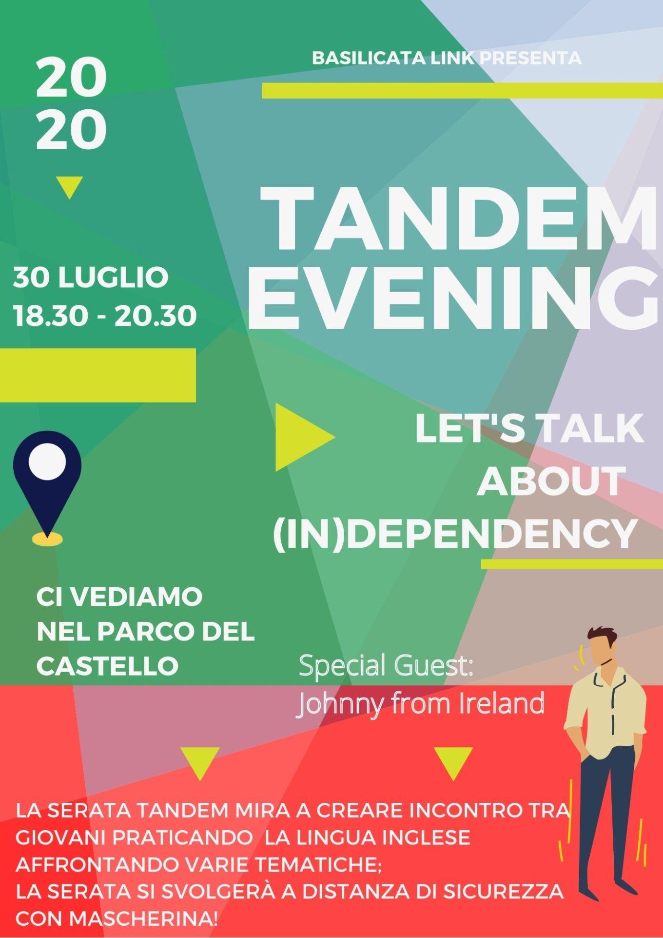 Tandem Evening 30 luglio